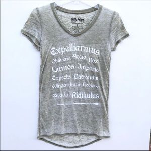 Harry Potter Burn Out Graphic Tee Size XS
